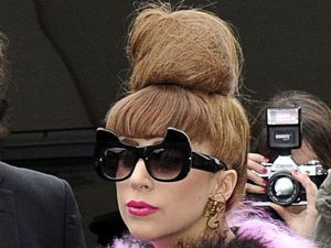 Miss mode: Lady gaga in fur