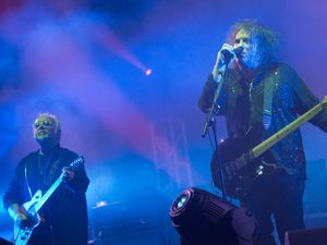 The Cure perform at Reading Festival 2012