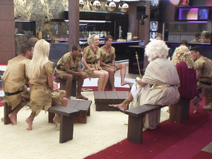 Day 13: Housemates gather for the 'Gods and Mortals' task
