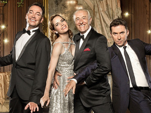 Craig Revel Horwood, Darcey Bussell, Len Goodman and Bruno Tonioli.