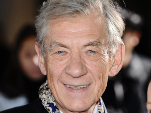 Sir Ian McKellen arrives at the Variety Club Showbiz Awards at the Grosvenor Hotel in London