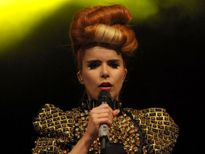 Paloma Faith performs at the 2012 Blackpool Illuminations Swtich-On Concert.