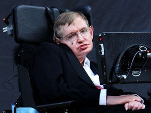 photo dated 19/09/08 of Professor Stephen Hawking