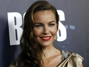 "Connie Nielsen arrives at the premiere for the television series ""Boss"" in Los Angeles"