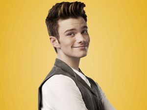 Chris Colfer as Kurt Hummel in Season 4 of Glee.