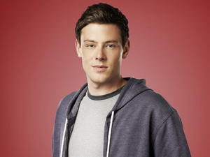 Cory Monteith as Fin Hudson in Season 4 of Glee.