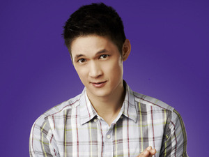 Harry Shum Jr. as Mike Chang in Season 4 of Glee.