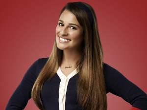 Lea Michele as Rachel Berry in Season 4 of Glee.