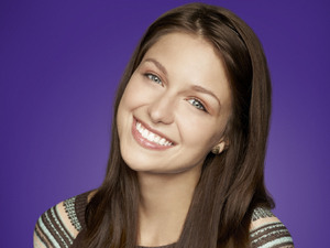 Melissa Benoist as Marley in Season 4 of Glee.