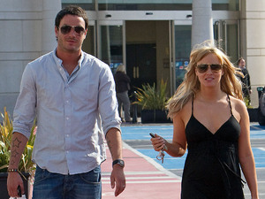 Jack Tweed and Chanelle Hayes spotted at the Bluewater Shopping Centre in Greenhithe Kent, England - 21.04.10 Mandatory Credit: WENN.com