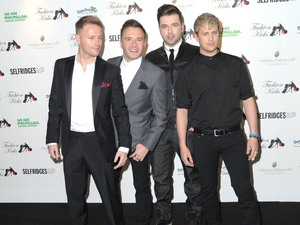 Westlife Fashion Kicks at Manchester Point Old Trafford Cricket Ground Manchester, England - 01.05.12 Mandatory Credit: Steve Searle/WENN.com