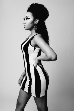 Little Mix Leigh-Anne Pinnock in Fiasco magazine shoot.