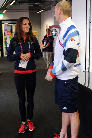 Duchess of Cambridge, Paralympics 2012