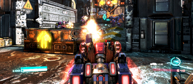 &#39;Transformers: Fall of Cybertron&#39; screenshot