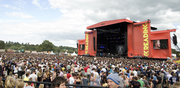 Reading Festival 2012 Main Stage.
