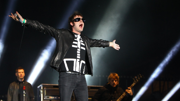 Kasabian perform at Reading Festival 2012