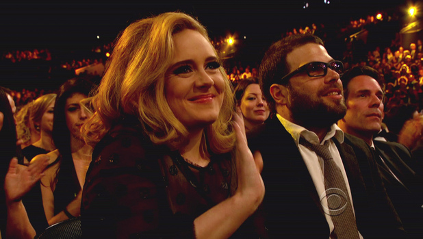 Adele Adkins and boyfriend Simon Konecki