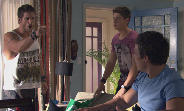 Heath is furious when he discovers Brax never passed on the letters from Danny.