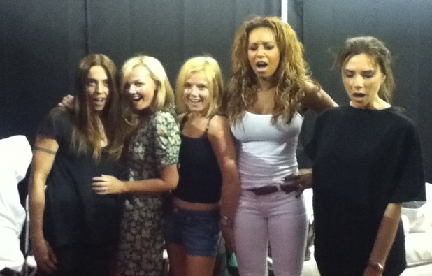 Spice Girls reunion photo posted by Mel B