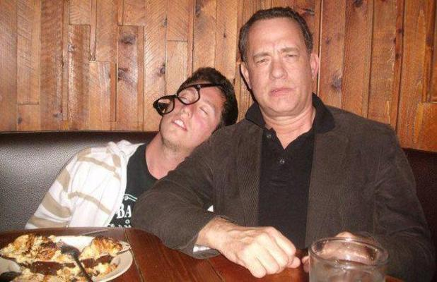 Tom Hanks 'wasted fan' photo