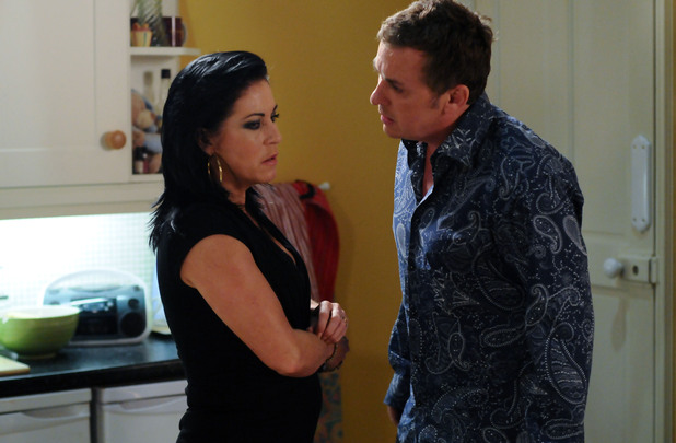 Kat admits to Alfie that she's been having an affair.