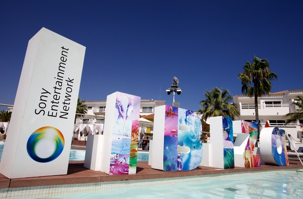 Sony Entertainment Network Ibiza