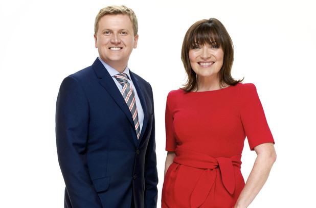 Daybreak host Aled Jones and Lorraine Kelly
