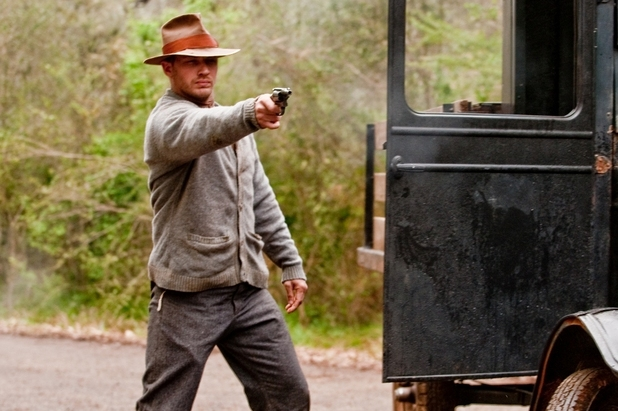 Tom Hardy opens fire Lawless