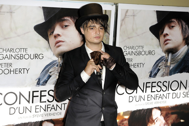 Pete Doherty at the 'Confessions D'un Enfant Du Siecle' premiere at UGC Cine Cite des Halles. Paris France