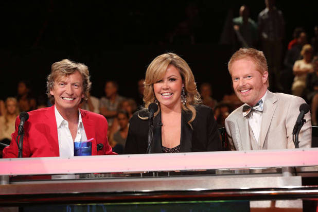 So You Think You Can Dance S09E12: Judges Nigel Lythgoe, Mary Murphy and guest judge Jesse Tyler Ferguson