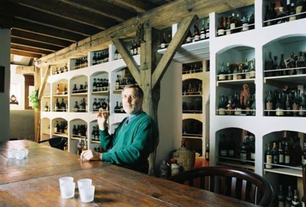 Bay van der Bunt, owner of Old Liquors with his cognac