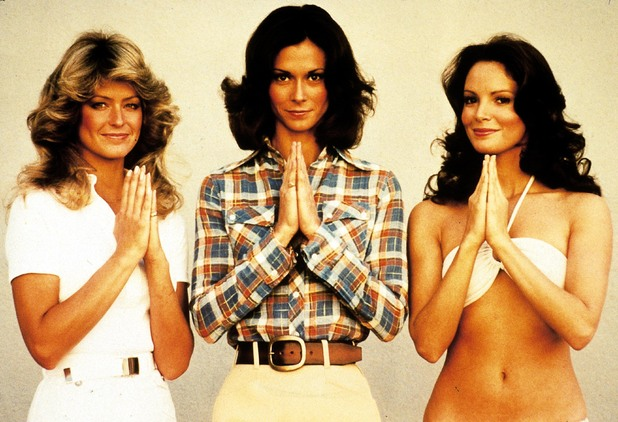 Original cast of Charlie's Angels.