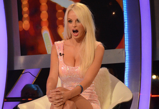 Rhian Sugden evicted from Celebrity Big Brother