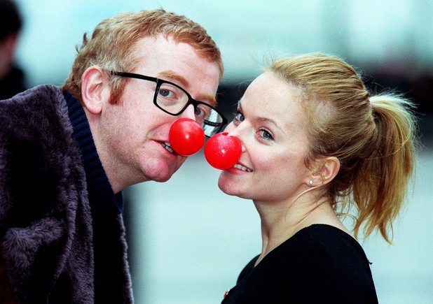 Chris Evans and Geri Halliwell