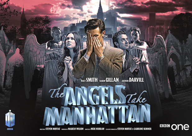 Doctor Who: 'The Angels Take Manhattan' iconic poster