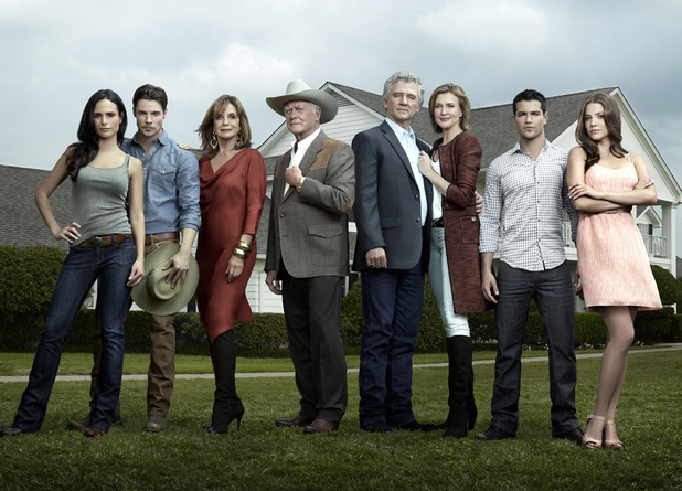 The cast of Dallas 2012.