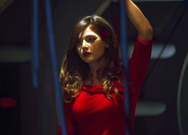 Jenna-Louise Coleman as Oswin in Doctor Who 'Asylum of the Daleks'