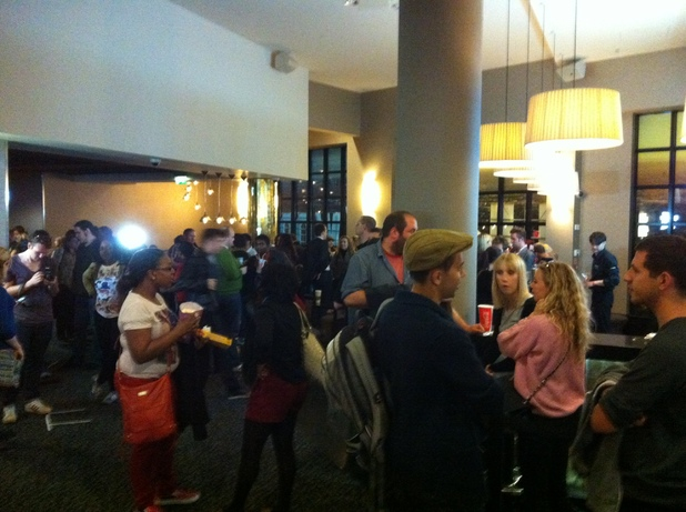The Hunger Games Unseen Digital Spy screening fans