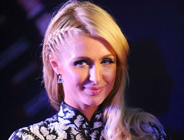 Paris Hilton at the opening ceremony of the fashion month of Huaihai Tiandi in Shanghai, China.