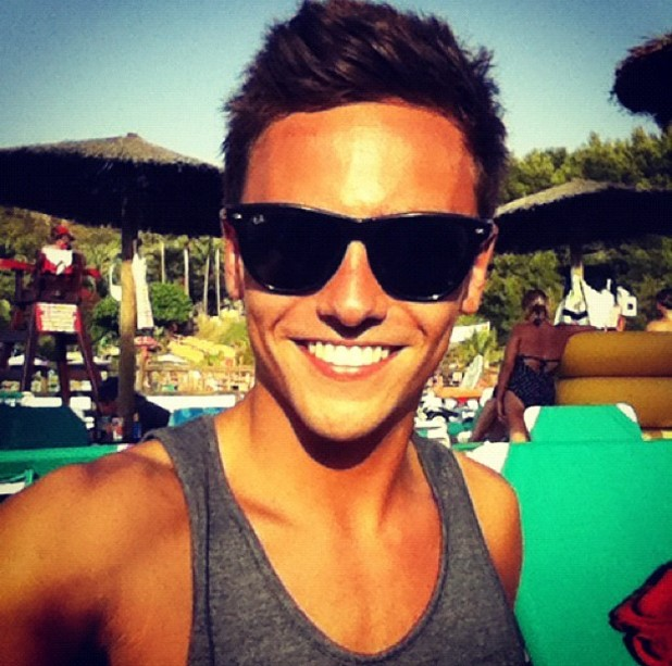 Tom Daley, twitter