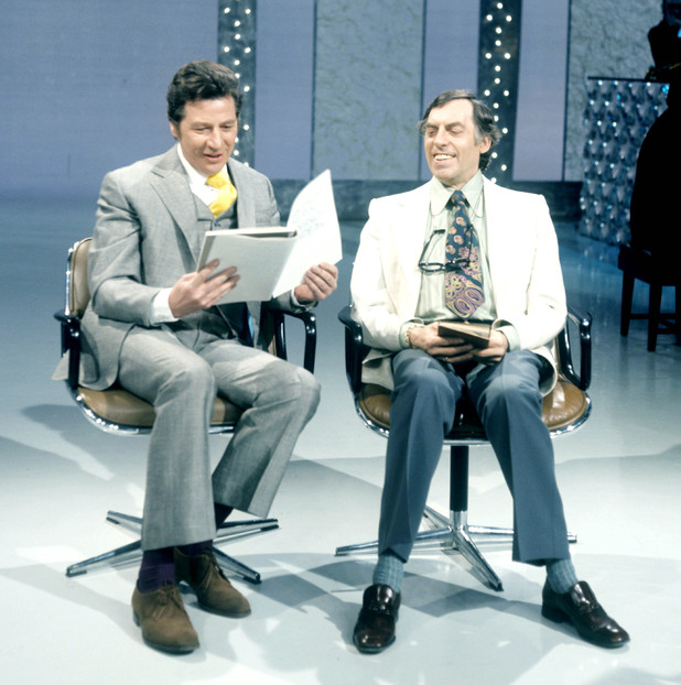 Max Bygraves and Larry Grayson.