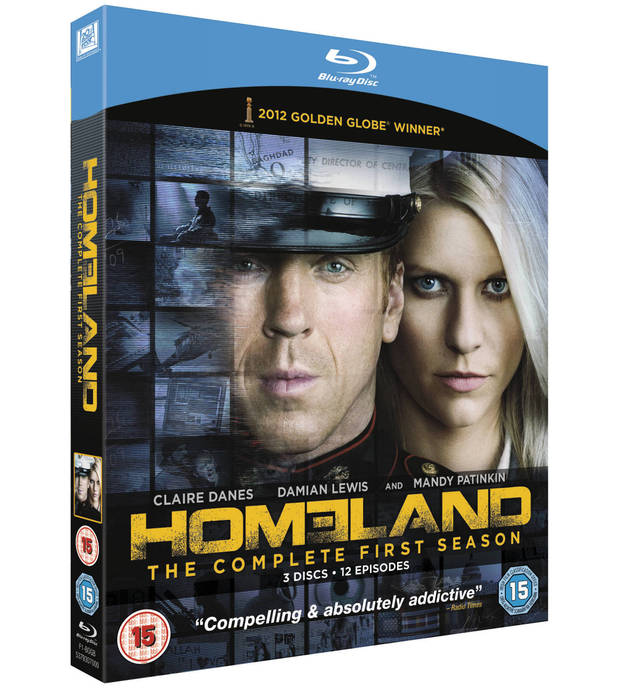 'Homeland' season one packshot
