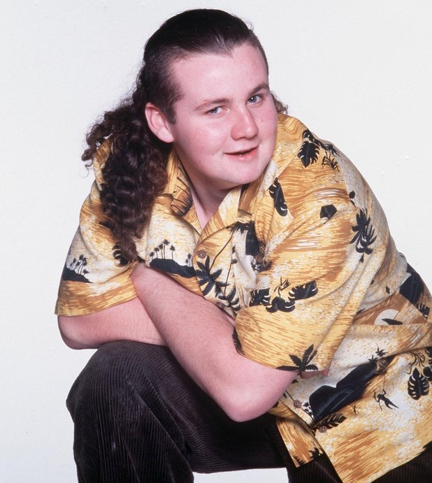 Ryan Maloney as Toadie in Neighbours. 1994.