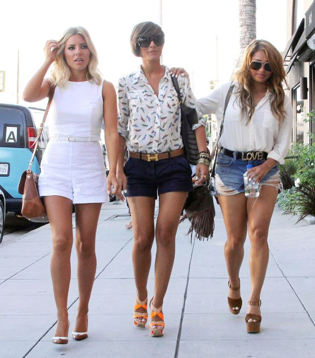 Mollie King, Frankie Sandford and Vanessa White