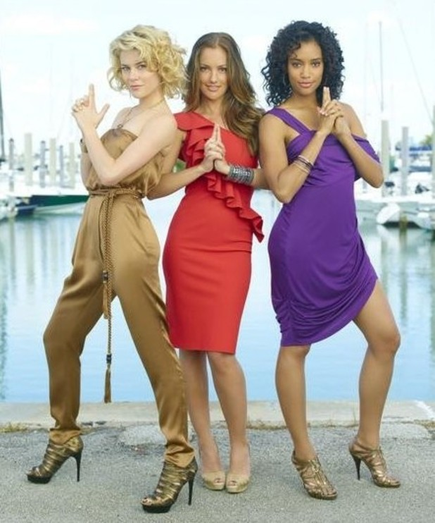 Minka Kelly, Rachael Taylor and Annie Ilonzeh.
