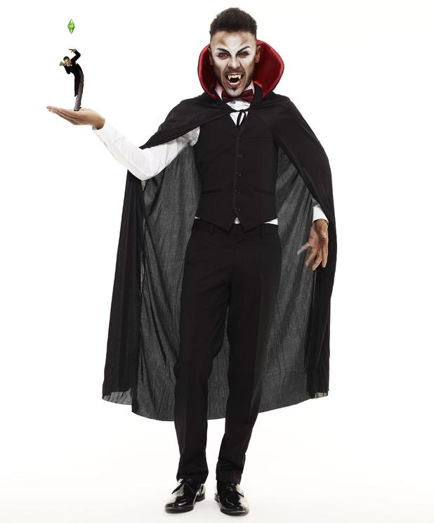 Marcus Collins as a vampire for The Sims 3: Supernatural