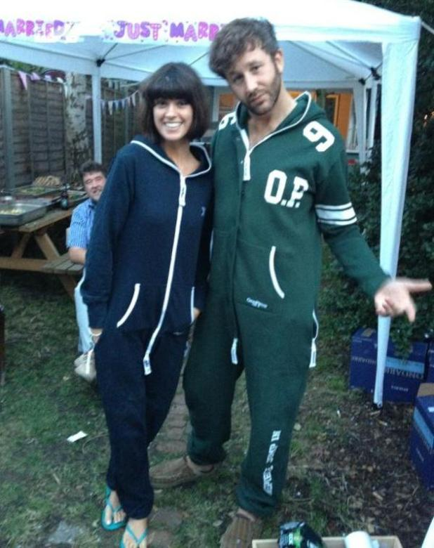 Chris O'Dowd and Dawn Porter married Twitter pic