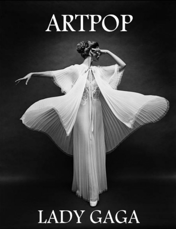 Fan-made Lady GaGa 'ARTPOP' poster.