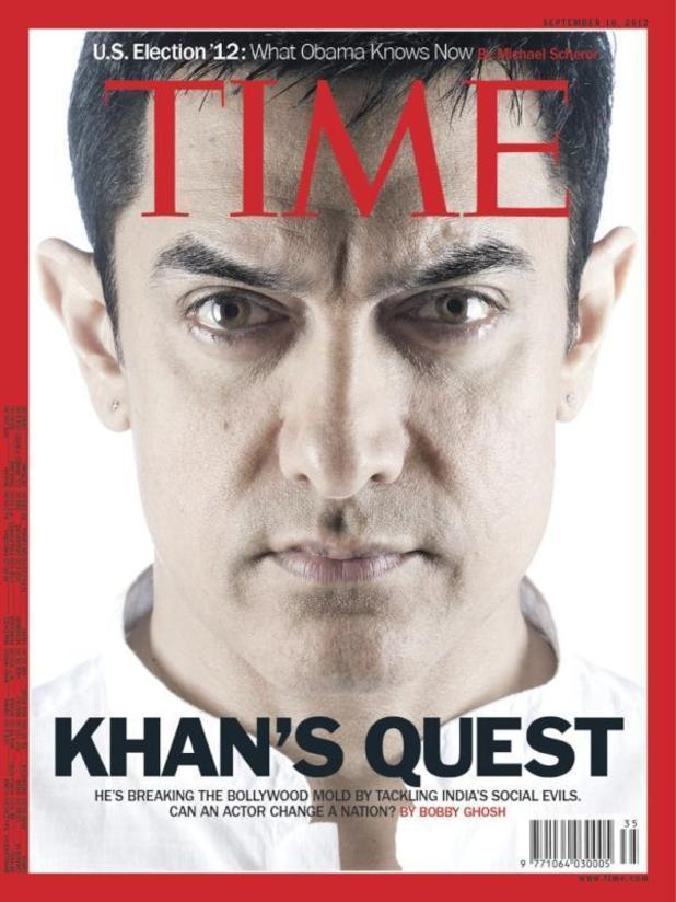 Aamir Khan on cover of TIME magazine