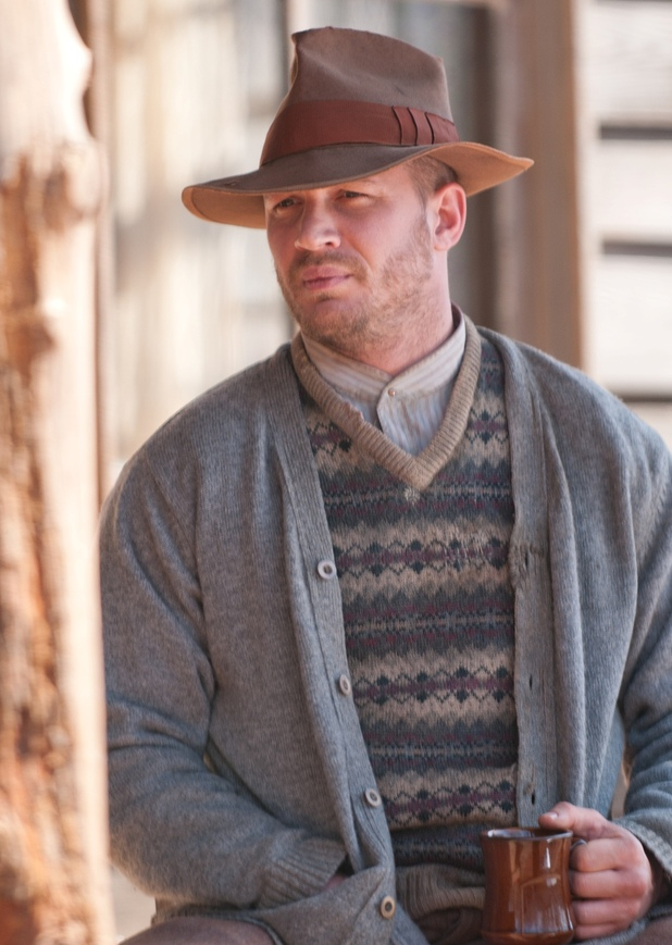 Lawless Tom Hardy exclusive picture